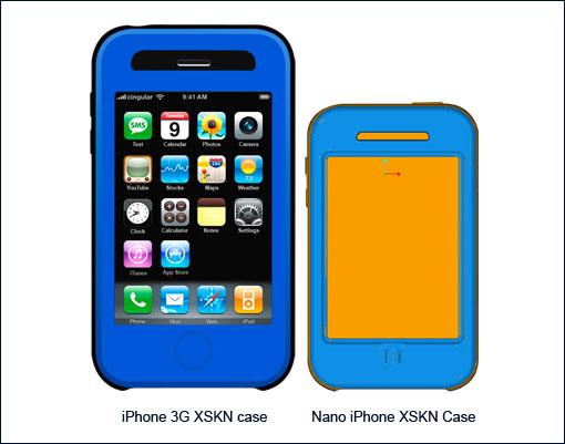 iPhone und iPhone nano Hülle im Vergleich
