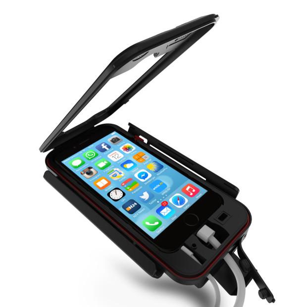 iPhone Premium Fahrradhalterung mit raffinierter Kabelführung