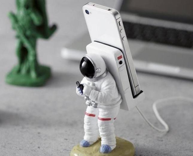 iPhone Ständer für Weltraum Fans
