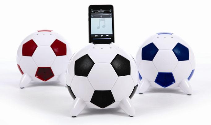 Das iPod Fußball Soundsystem für 79,90 Euro zur WM 2010