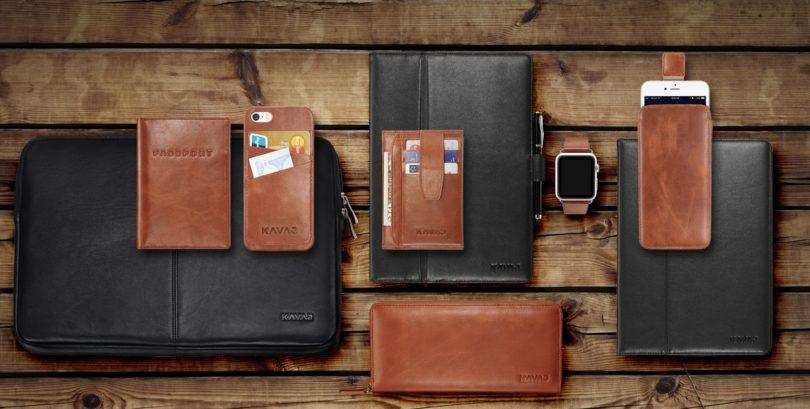 KAVAJ iPhone Lederhüllen und iPad Taschen neu bei arktis.de