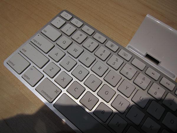 Die müsteriöse leere Taste auf dem iPad. Foto: macrumors.com