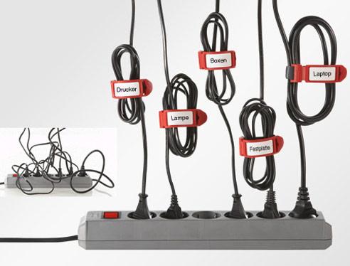 label the cable schlu mit dem kabelsalat unterm tisch blog. Black Bedroom Furniture Sets. Home Design Ideas