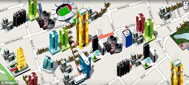 Monopoly City Streets benutzt Google Maps als Grundlage