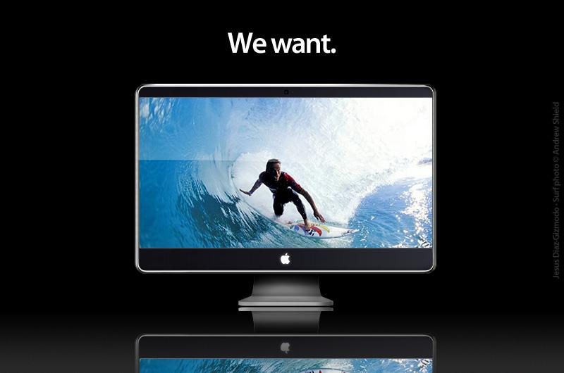Neue iMacs am Dienstag? So könnte er aussehen, der neue iMac.