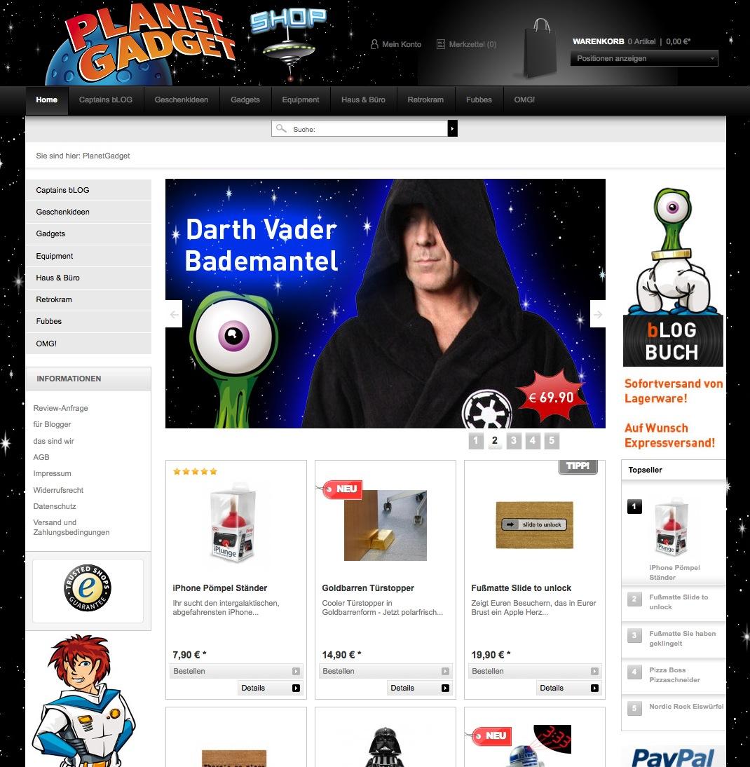 PlanetGadget.de ist online!