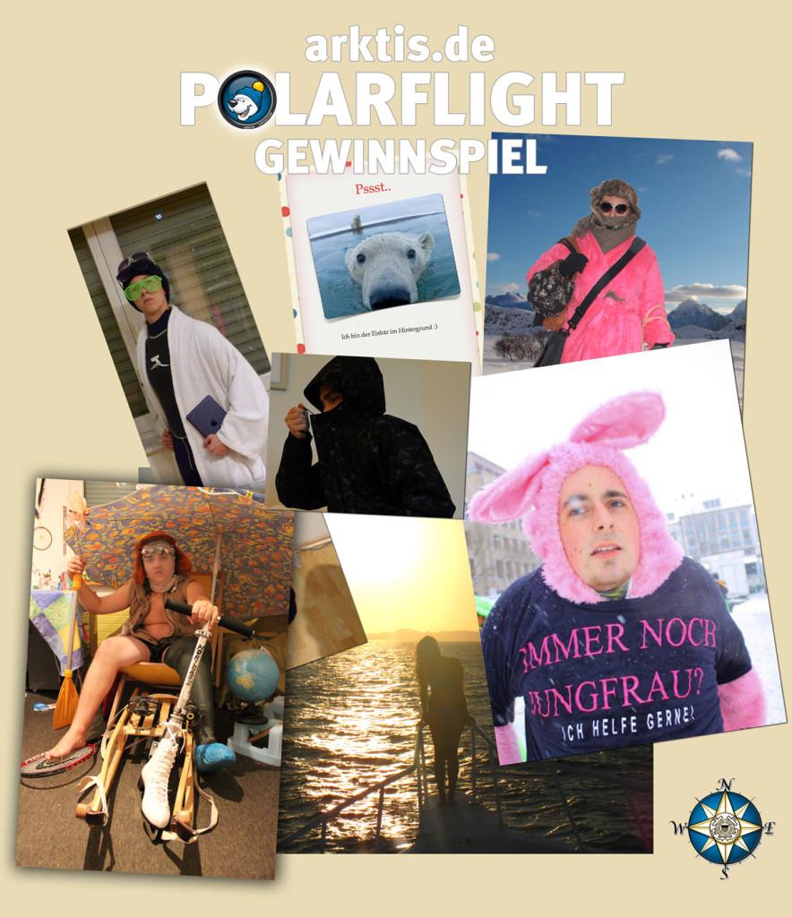 arktis.de Polarflight Gewinnspiel Teilnehmerfotos