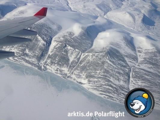 Grönland im Tiefflug