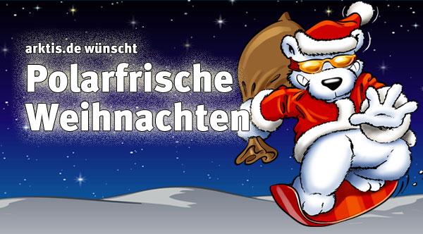 arktis.de wünscht frohe Weihnachten!