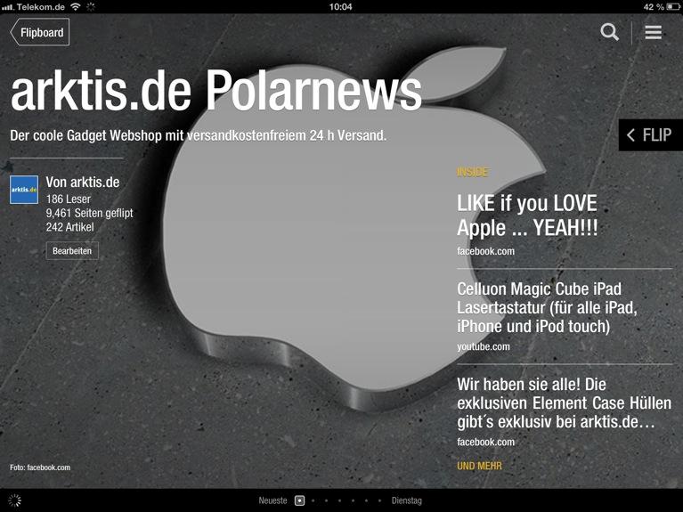 Täglich neu auf Flipboard: arktis.de Polarnews