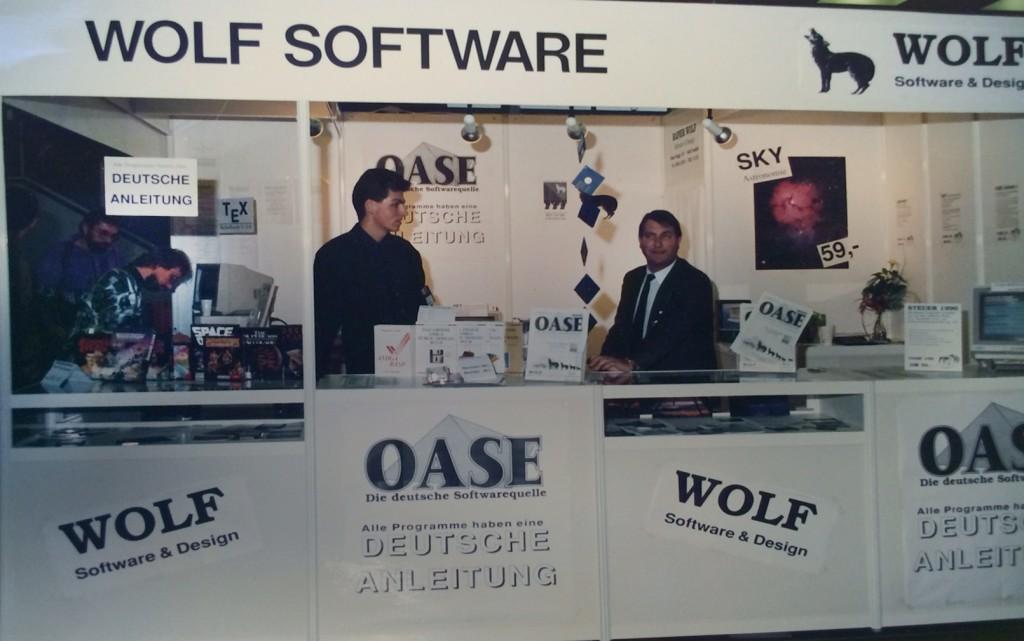 OASE-Messestand auf der Amiga-Messe in Köln