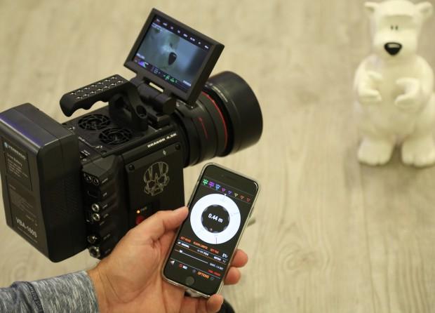 Red Raven Kamera im Einsatz