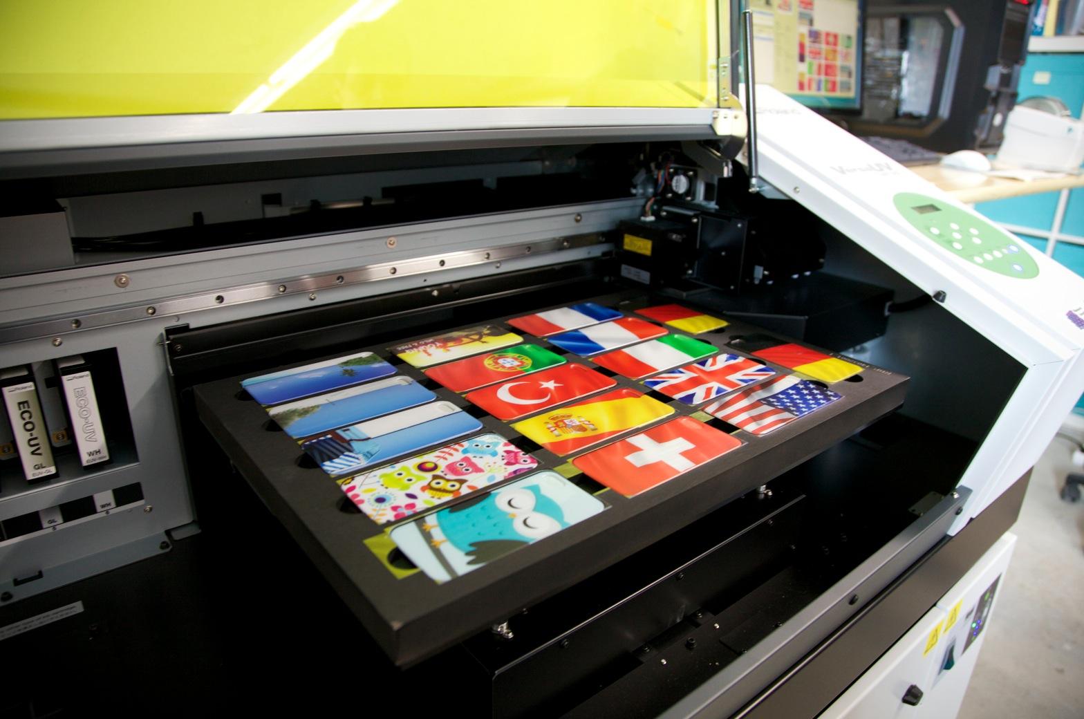 Roland LEF 200 UV Printer