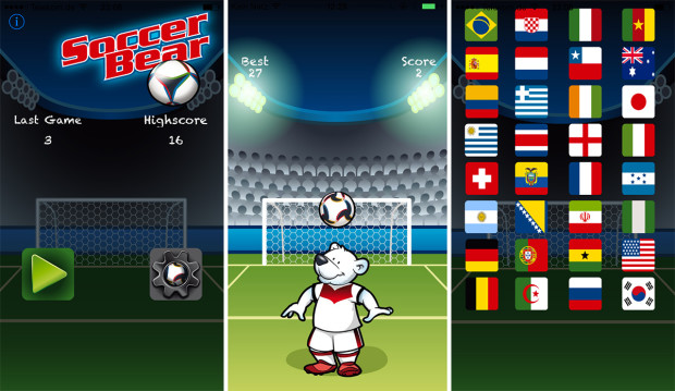 Soccer Bear stürmt in den Apple App Store