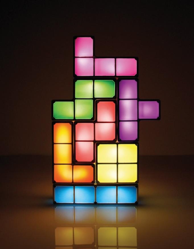 Nur 39,95 Euro bei arktis.de: Die Tetris Lampe ist da!