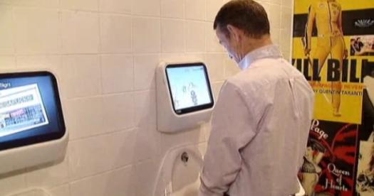 Videospiele mit dem Urinstrahl steuern, in London geht das schon...
