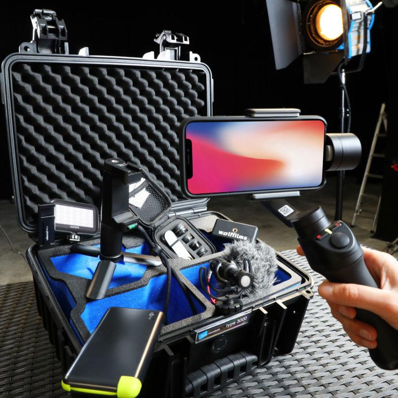 Der Wolffilms Koffer - Alles für Smartphone Filmemacher