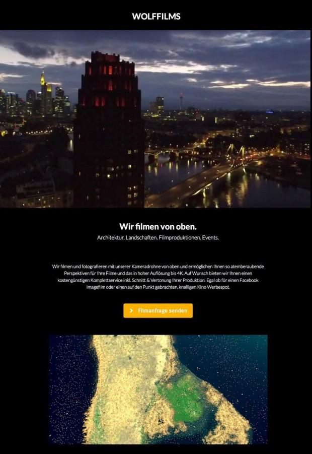 wolffilms.de - Wir filmen und fotografieren von oben